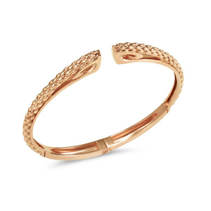 Sceptre Linea Python Cuff - Sterling Silver & 18K Rose Gold
