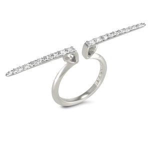 Sceptre Linea Pavé Median Ring