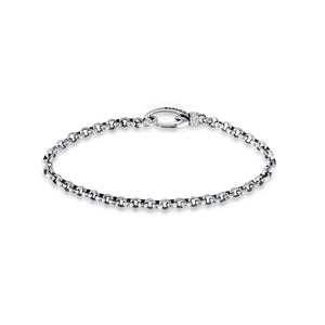 Everyday Empress Chain Bracelet - Sterling Silver CZ Blanc