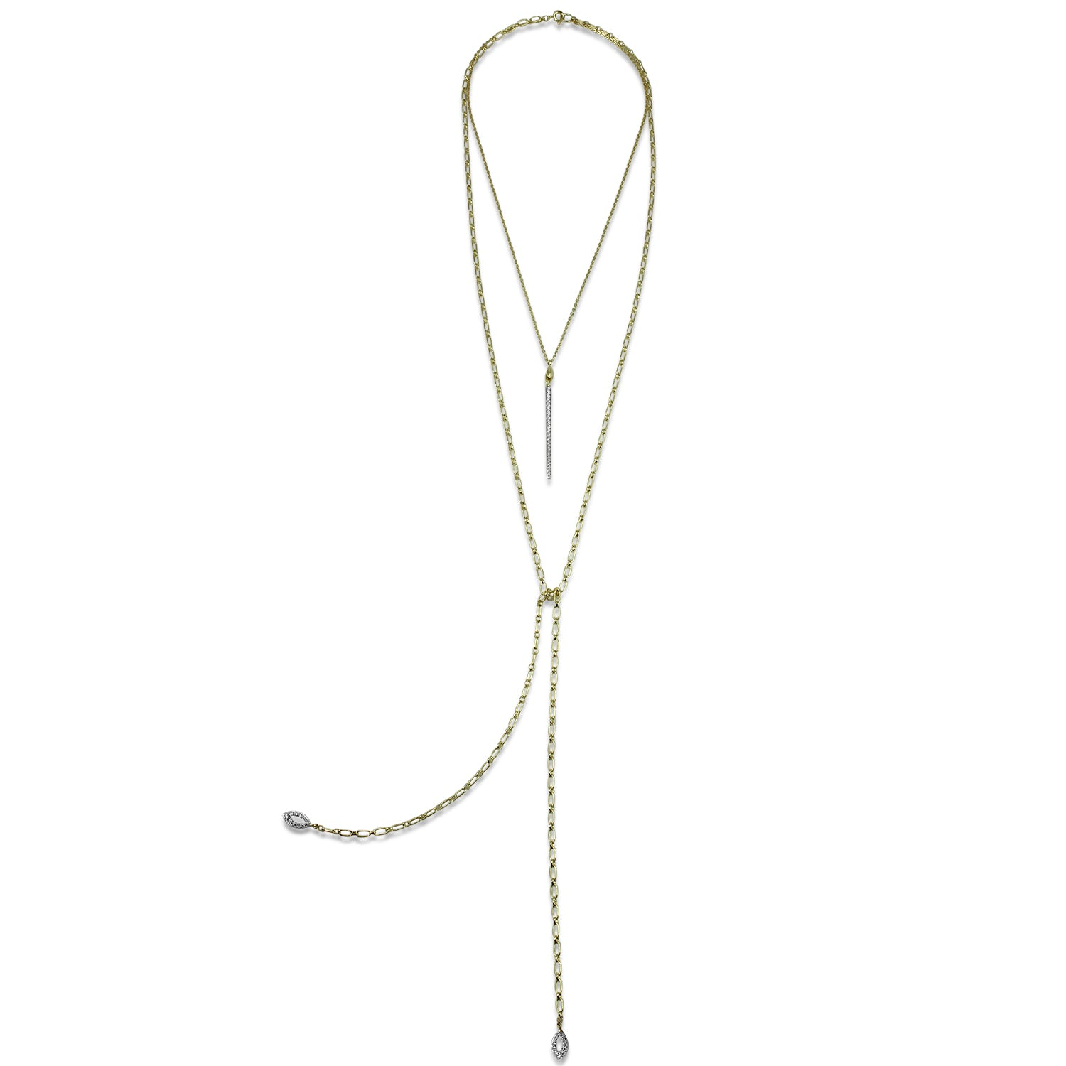 Sceptre Pavé Mingle Necklace