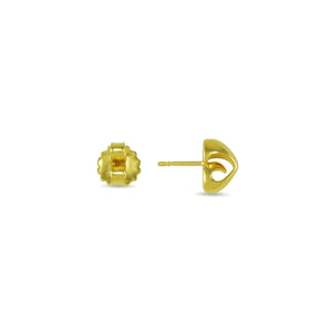 Coronet Crown Stud Earring