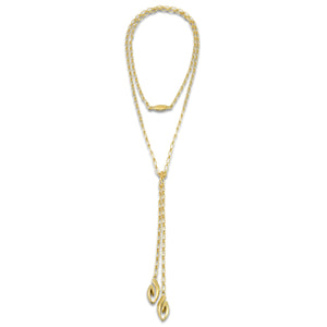 Coronet Lariat Chain Necklace