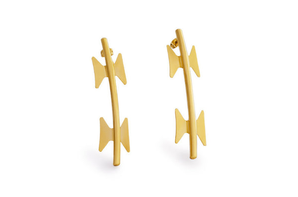 Gold Earrings - Welcome Jewelry - Amarist Studio