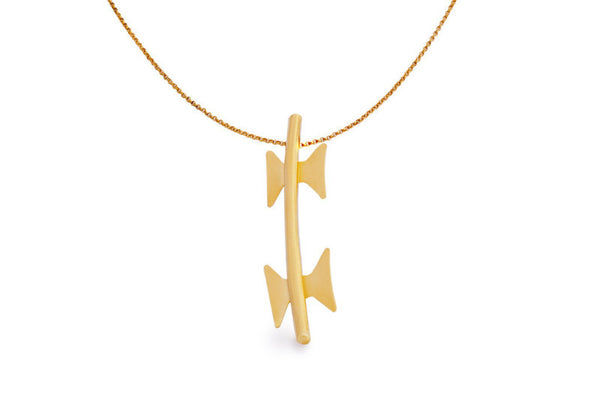 Gold Necklace - Welcome Jewelry - Amarist Studio