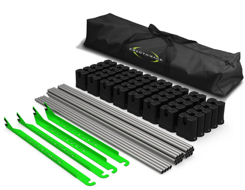 Original Series 10-Level Erecta-Rack Kit with Custom Carry Bag
