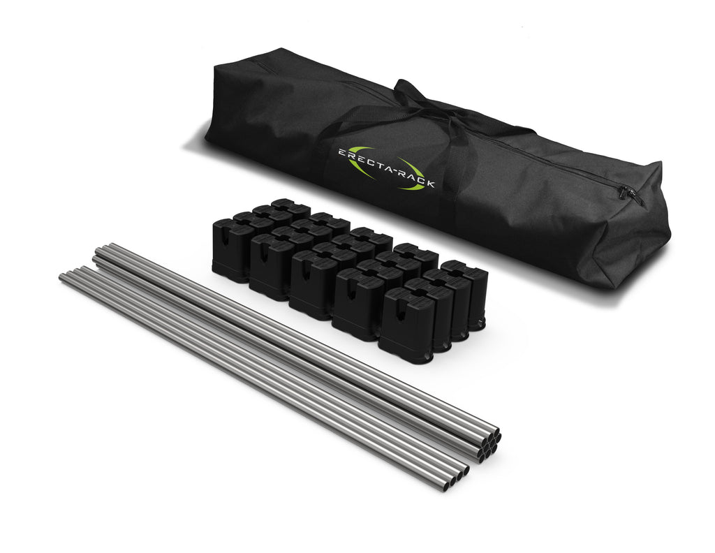 Original Series 5-Level Erecta-Rack Kit with Custom Carry Bag