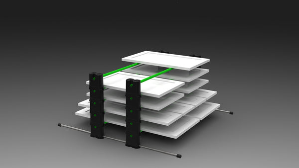 PRO Series 5-Level Erecta-Rack Kit with Custom Carry Bag