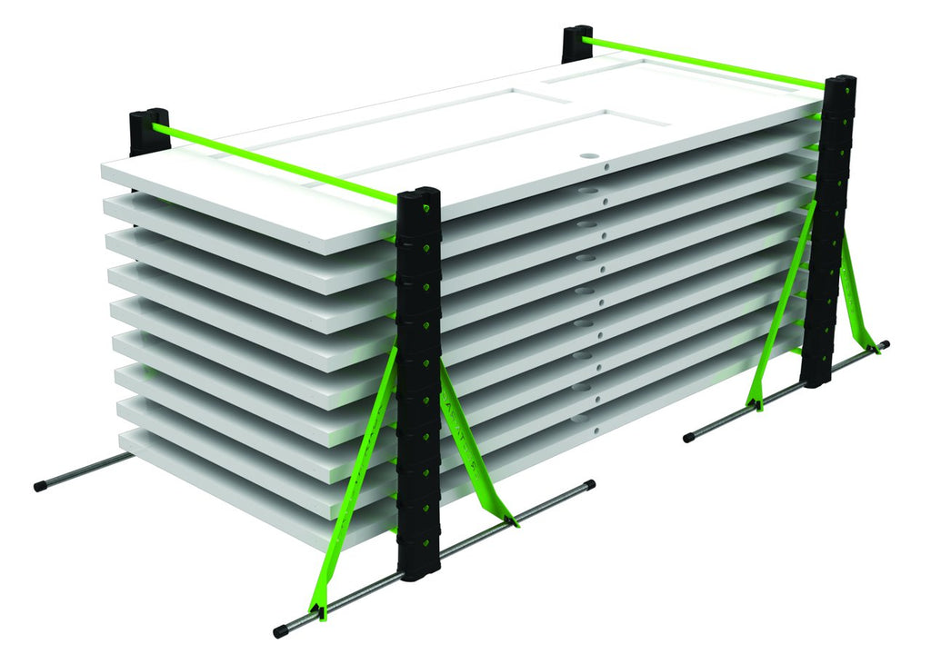Erecta Rack Paint Drying Rack Portable System