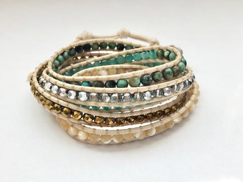 Healthy Role Models 2018 Autumn Journey 5 Layer Wrap Bracelet