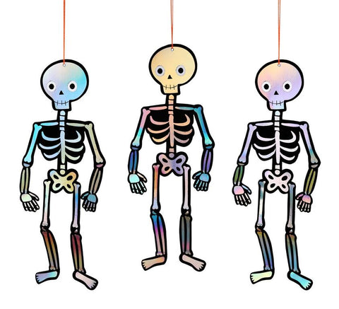 Spooky Skeletons Hanging Decorations