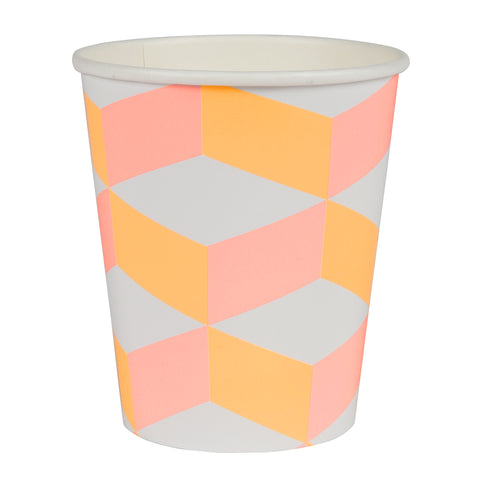 Blush Cubic Cups