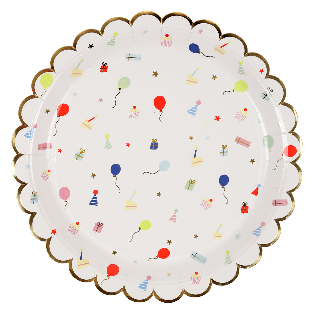Party Icons Large Plates