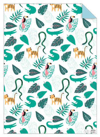 Go Wild Gift Wrap Sheet