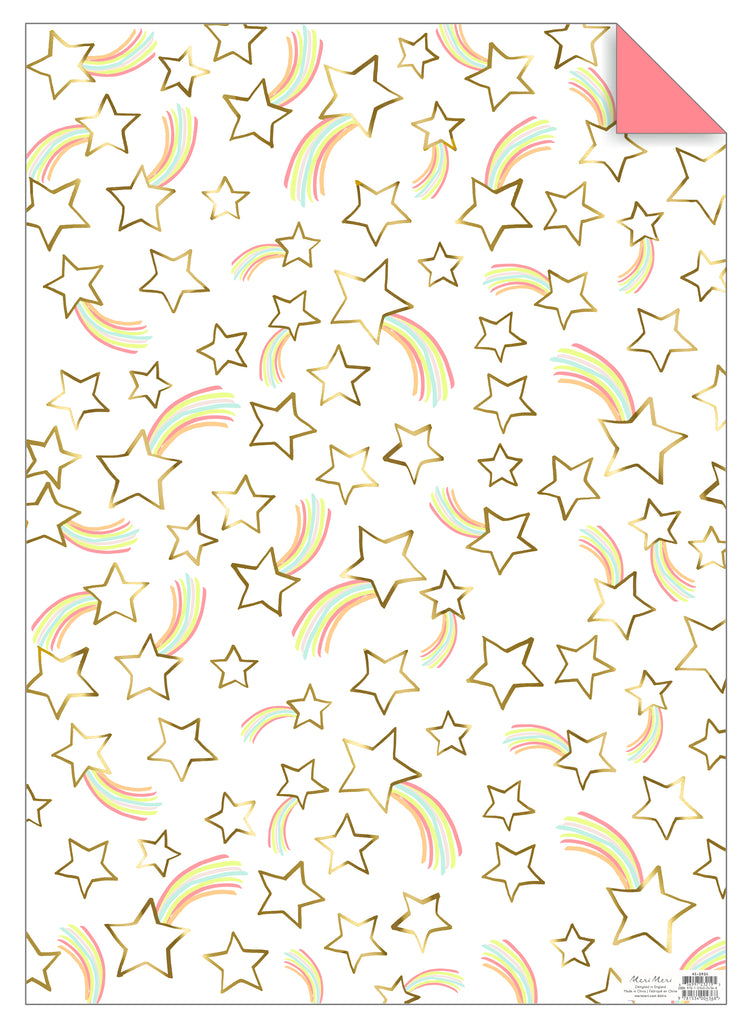 Shooting Star Gift Wrap Sheet