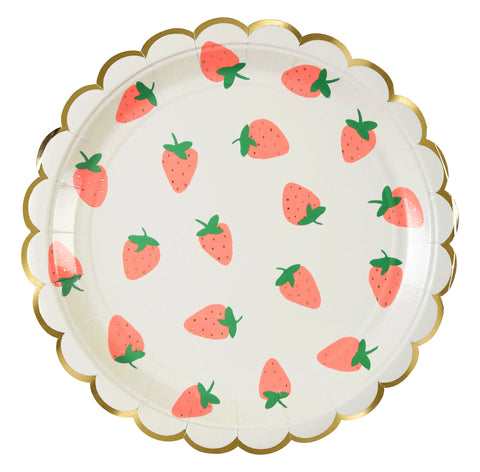 Strawberry Large Plates