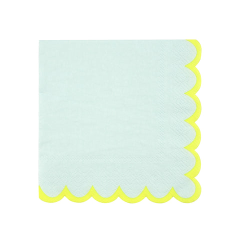 Pastel Mint Small Napkins