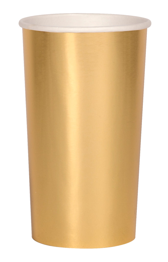 Gold Highball Cups