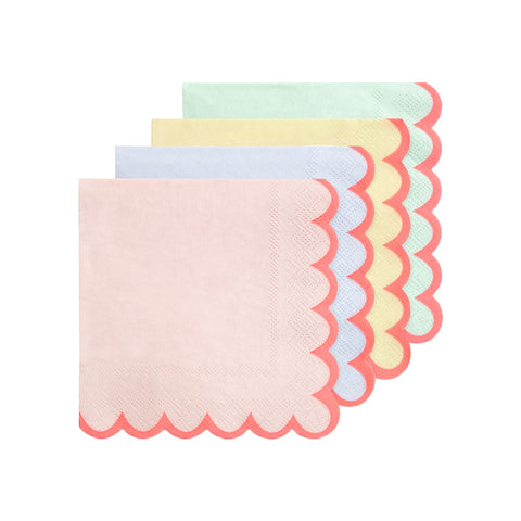 Small Pastel Napkins