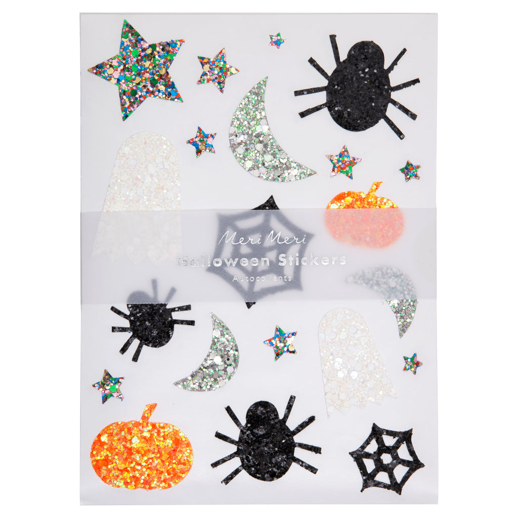 Glitter Halloween Sticker Sheets