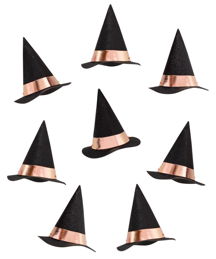 Mini Witch Rose gold Party Hats