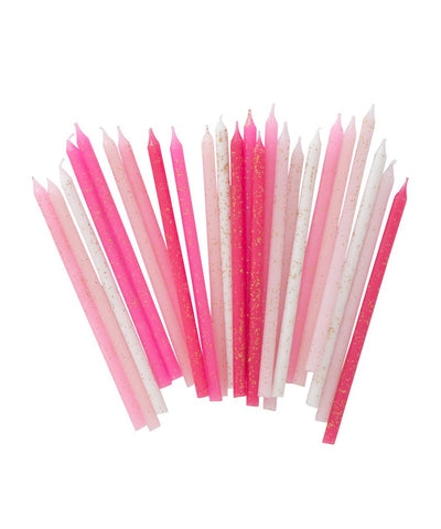 Pink Party Candles