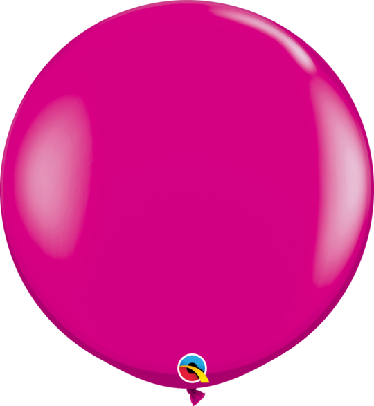 Wild Berry Latex balloon 36""