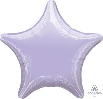 Lilac Star Balloon 22""