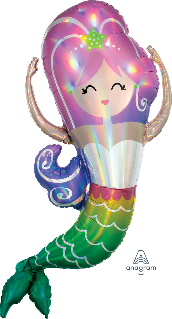 Iridescent Mermaid Balloon
