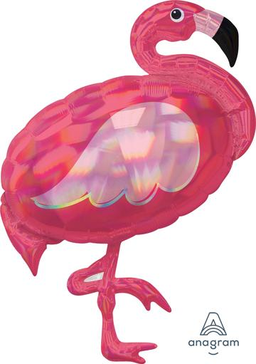 Iridescent Pink Flamingo