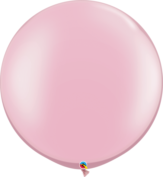 Pearl Pastel Pink Latex balloon 36""