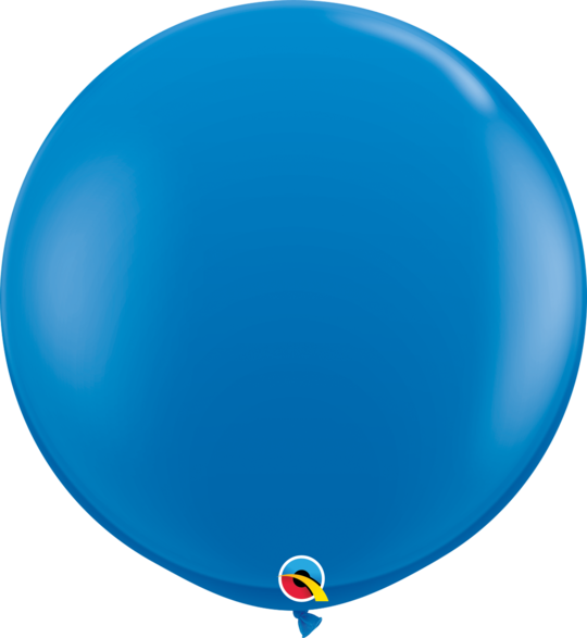 Dark Blue Latex balloon 36""