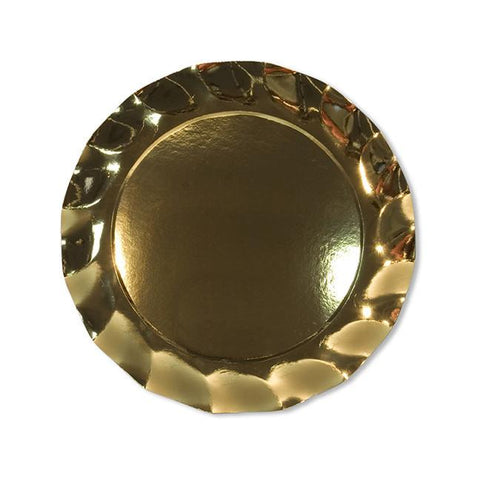 Brilliant Gold Dinner Plates