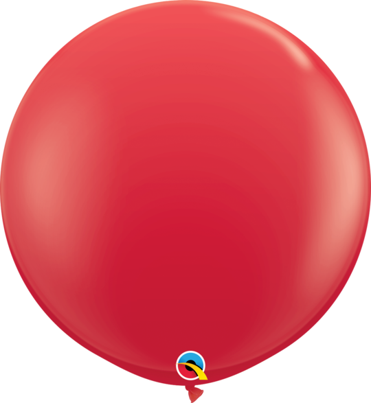 Red Latex balloon 36""
