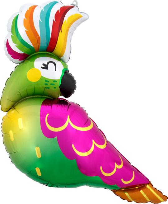 Tropical Parrot Balloon