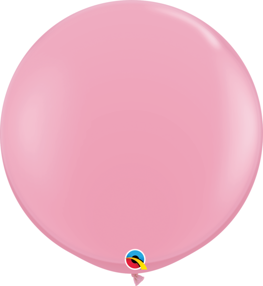 Pink Latex balloon 36""
