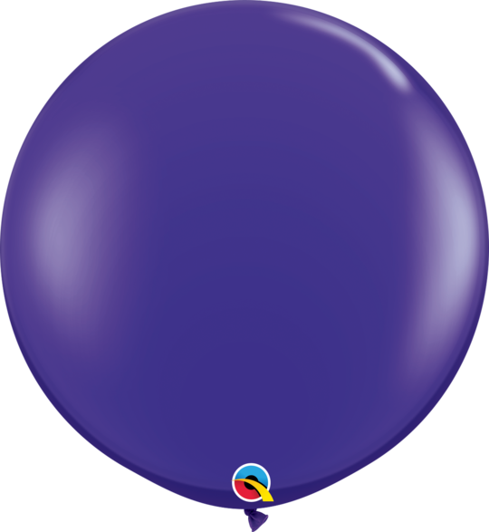 Quartz Purple Latex balloon 36""
