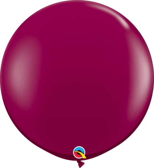 Sparkle Burgundy Latex balloon 36""