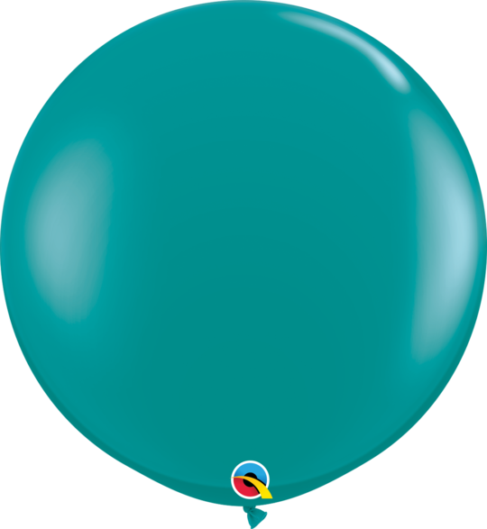 Jewel Teal Latex balloon 36""