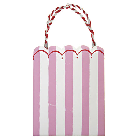 Pink Stripes Party bags