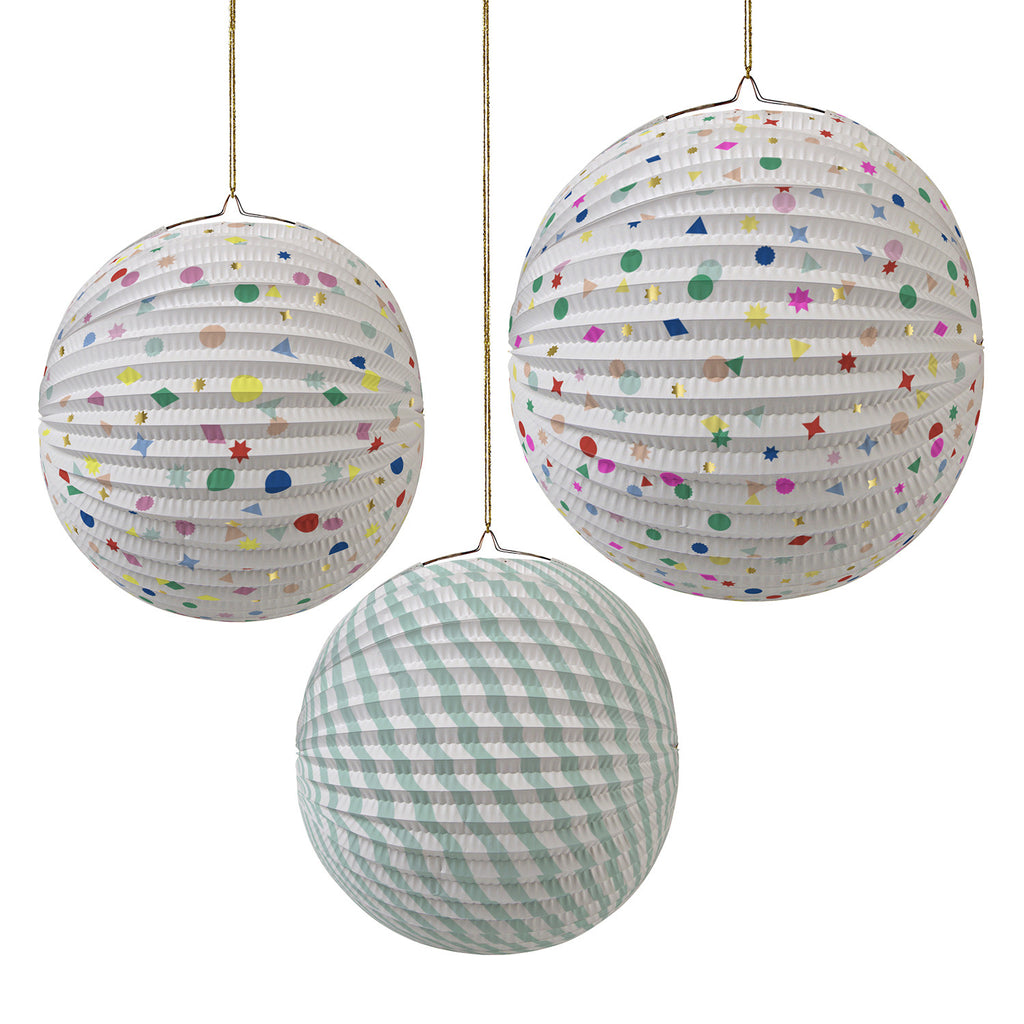 Paper Globes Charms