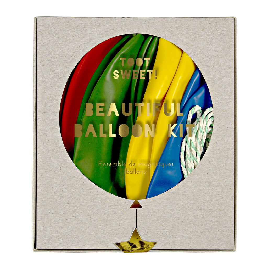 Multicolor Balloon Kit (8 pack)