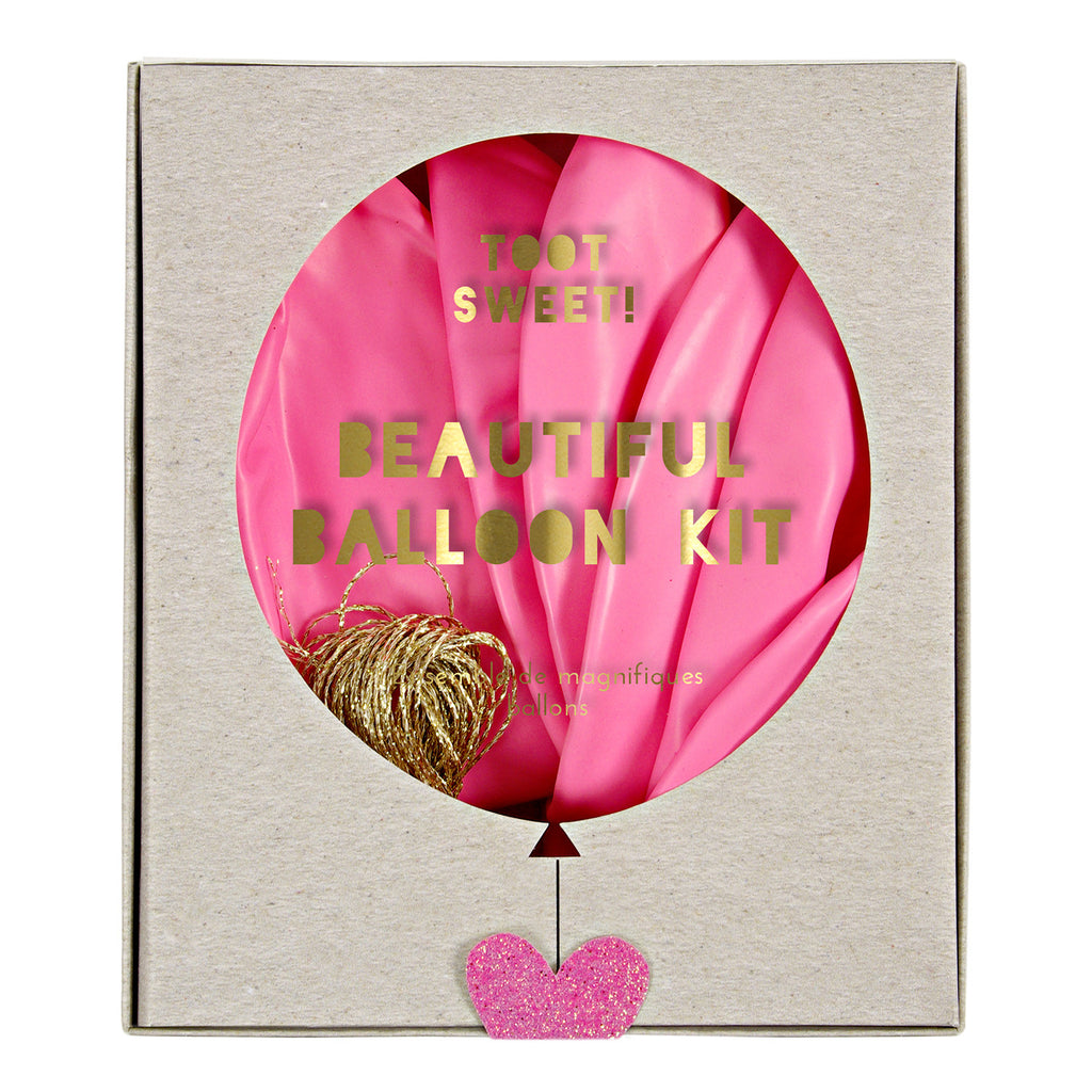 Pink Balloon Kit (8 pack)