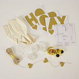 White Balloon Kit (8 pack)