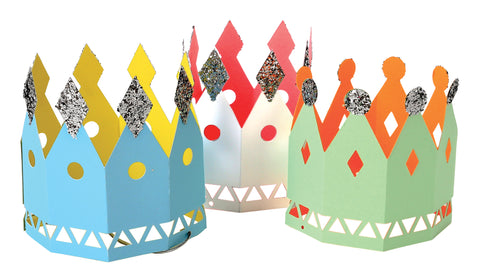 Papercut Crowns