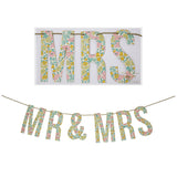 Poppy & Daisy 'Mr & Mrs' Garland