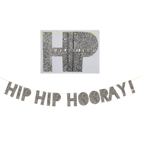 'Hip Hip Hooray' Garland