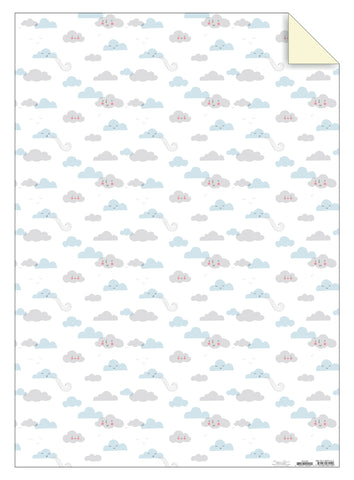 Clouds Gift Wrap Sheet