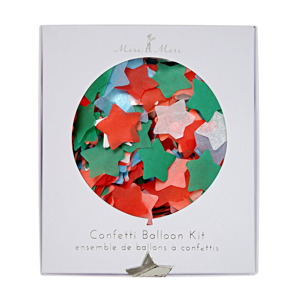 Christmas Confetti Balloon kit (8 pack)