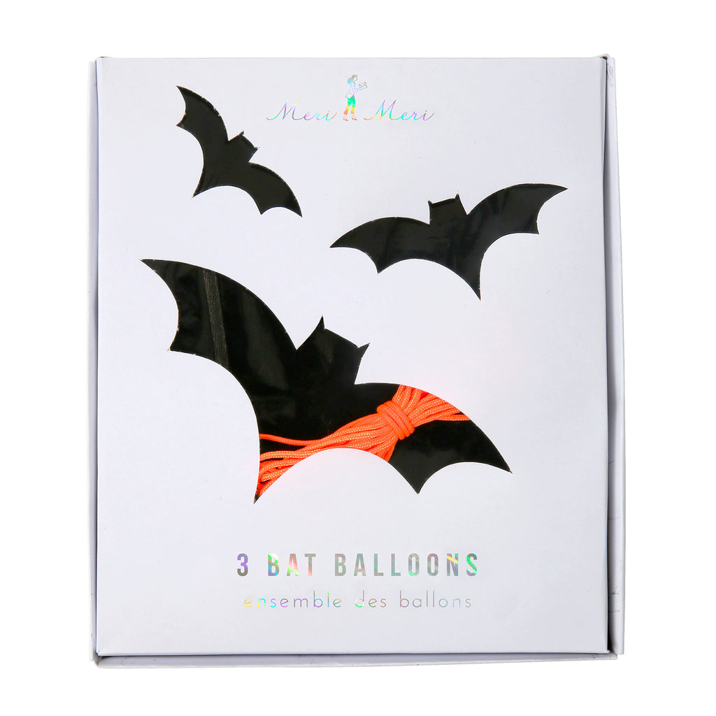 Bat Balloons (3 pack)