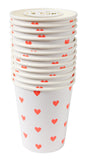 Heart Party Cups